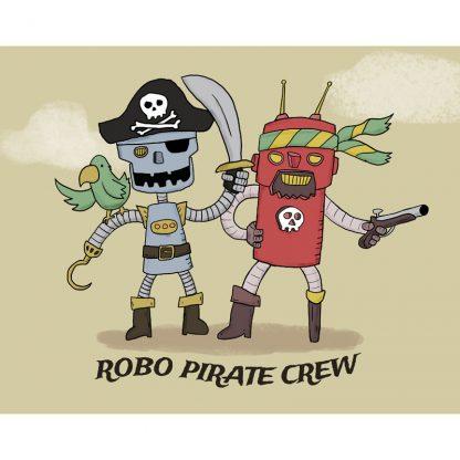 Robo pirate crew